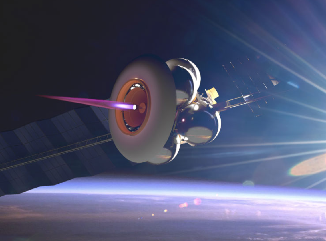 Artist's conception of the Momentus Ardoride Orbital Transfer Vehicle